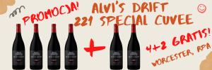Zestaw Alvi's Drift 221 Special Cuvee 4+2 GRATIS